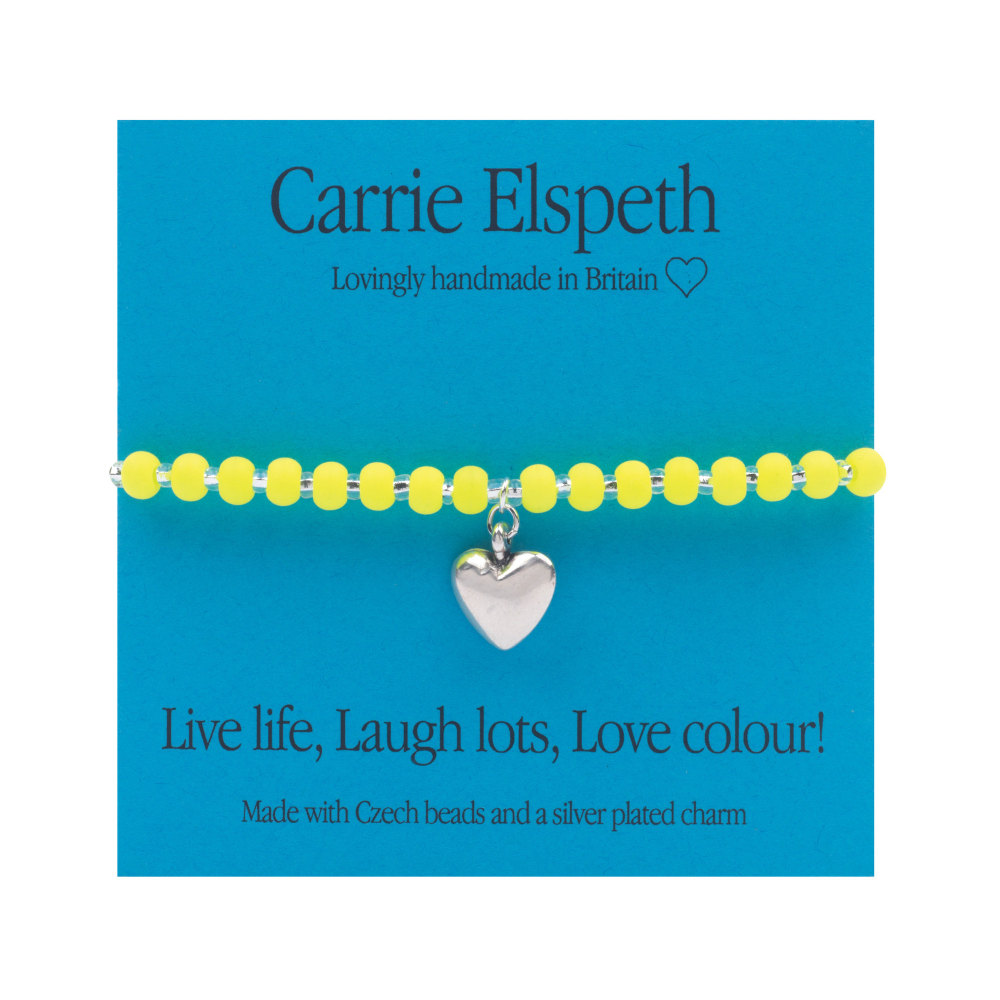 Carrie Elspeth - Brights Collection - Neon Yellow