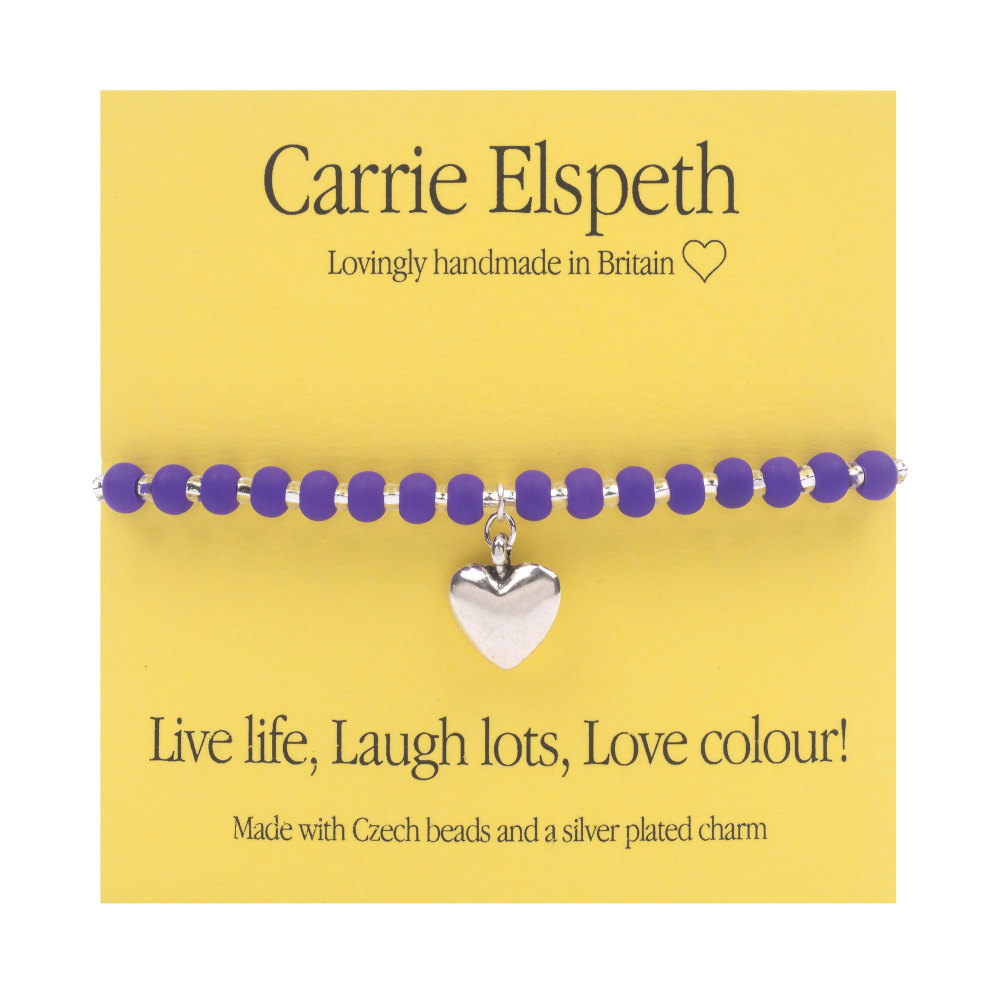 Carrie Elspeth - Brights Sentiments - Purple