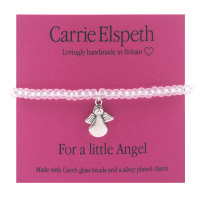 Carrie Elspeth - Minis Sentiments Bracelet - For a little Angel