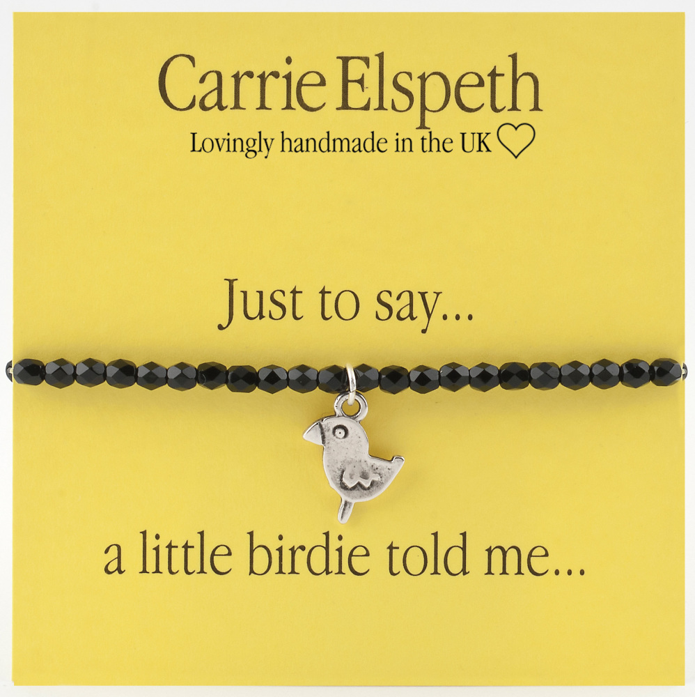 Carrie Elspeth - Just to say... a little birdie told me..