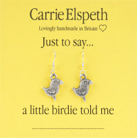 Carrie Elspeth - Just to say.. a little birdie told me - Earrings