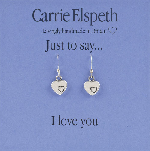 Carrie Elspeth - Just to say... I love you - Earrings