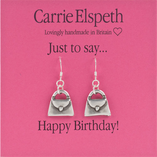 Carrie Elspeth - Just to say... Happy Birthday - Earrings