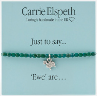 Carrie Elspeth - Just to say... 'Ewe' are - Sheep Bracelet
