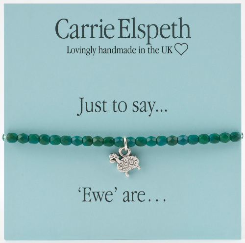 Carrie Elspeth - Just to say... 'Ewe' are - Bracelet