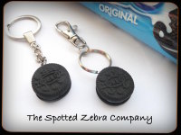Replica Mini Oreo® Biscuit - Keyring