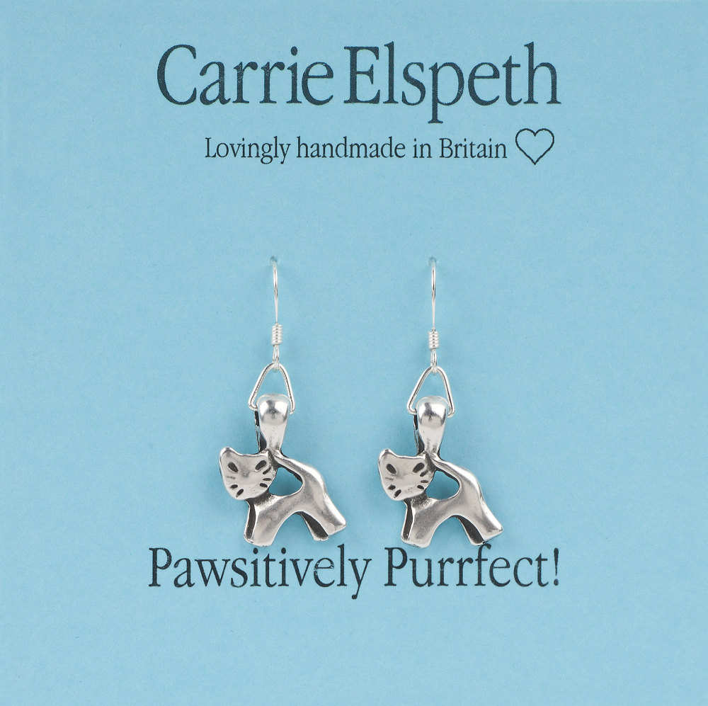 Carrie Elspeth - Pawsitively Purrfect! - Earrings