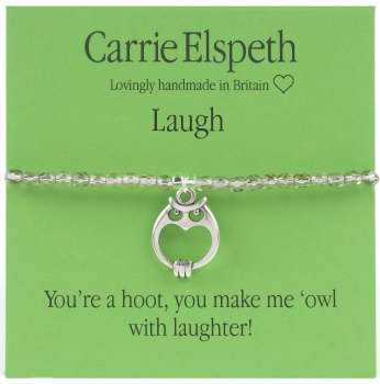 Carrie Elspeth - Laugh 'Owl' - Bracelet