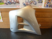 Gilera RK 50 RK50 L/H Left Side Silver Panel Fairing NOS Genuine OE
