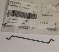 Peugeot Jetforce Seat Rod 760622