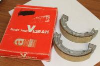 Kawasaki KX125 Front Brake Shoes Vesrah VB408 Reduced to Clear
