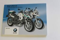 BMW F650 GS F650GS Special Vehicles Riders Manual 01418522391