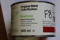 BMW Metalic Basecoat Paint 458 Titanblau 2, 500ml 51917652632
