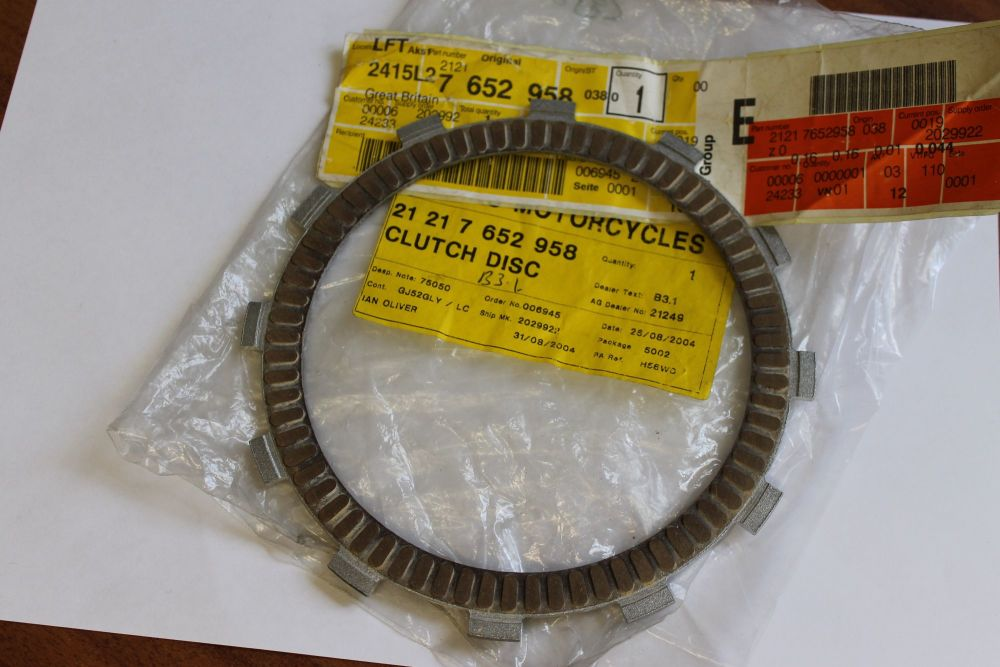 Bmw F650cs F650gs Dakar Clutch Friction Plate 3 5mm