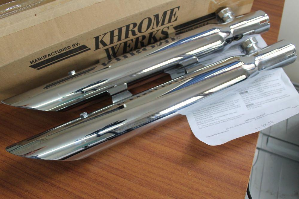Harley Sportster XL Khrome Werks 2 1/2