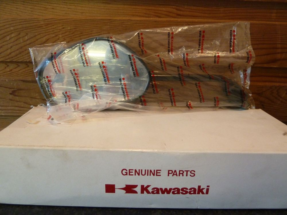 Kawasaki ZX130 AN130 Kaze Left Mirror Assembly 56001-0017
