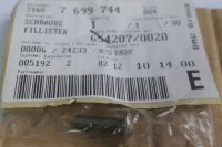 BMW Fillister Head Screw M6x20 71607699744