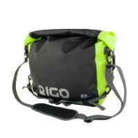 Eigo 20L Messenger Waterproof Bag Black / Fluro Reflective Logo