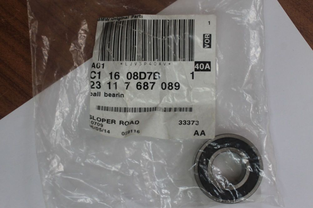 BMW Deep Grooved Gearbox Bearing Various Models See Description 23117687089