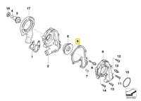 BMW K1200 Coolant Pump Gasket 11517684351