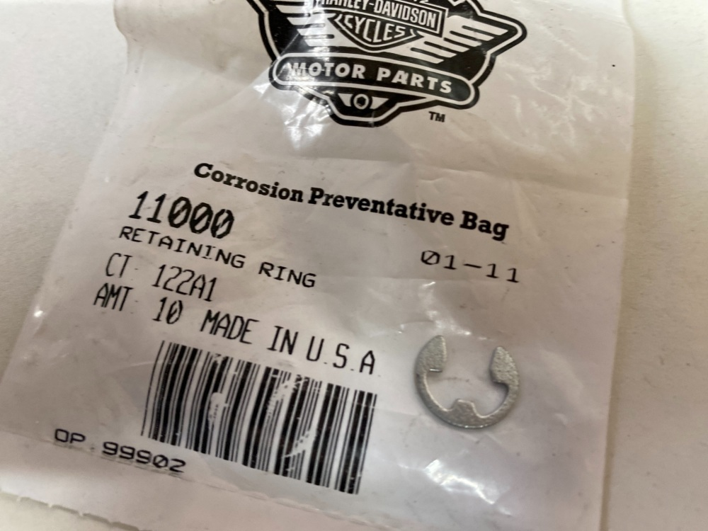 Harley retaining Ring C-Clip 11000