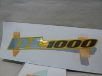 Suzuki DL1000 02-06 Seat Tail Sticker Pair 68161-06G00-JM1 Genuine OE - New