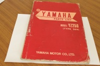 Yamaha YZ250 (Type 509) Parts Manual Genuine OEM 509-28198-E0
