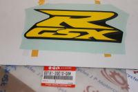 Suzuki Front Side Fairing Decal Sticker GSXR750 68181-33E10-G8W