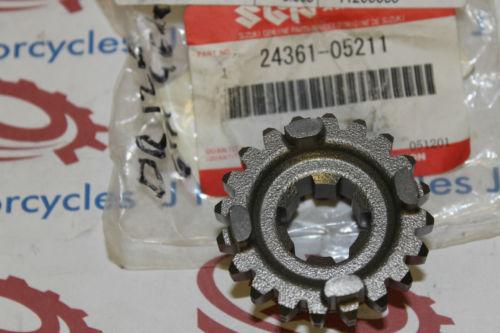 Suzuki SP100 DR100 DR125 SP125 RV125 6th Driven Gear 24361-05211