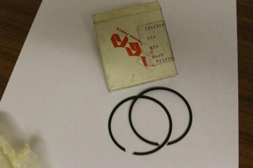 Suzuki Piston Ring Set p/n 12140-28790 / 12140-28630 GT185 TC100 TS100 RM10
