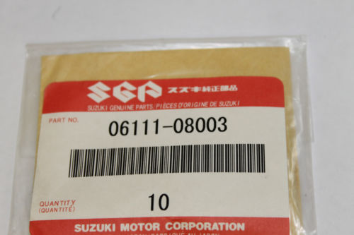 Suzuki DR125 DR250 DS80 GN125 RM125 RM250 Headstock  Bearing X10 p/n 06111-