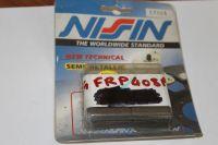 Nissin Brake Pads Semi Metalic 2P247 FRP408 P