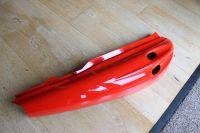 Suzuki AY50 Right Hand Frame Cover Panel Red NOS 47111-35E00-28V