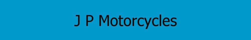 J P Motorcycles, site logo.
