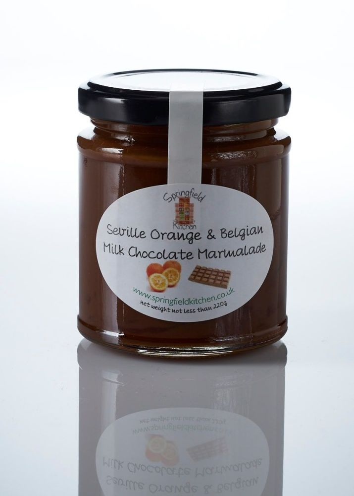 Seville Orange and Belgian Milk Chocolate Marmalade