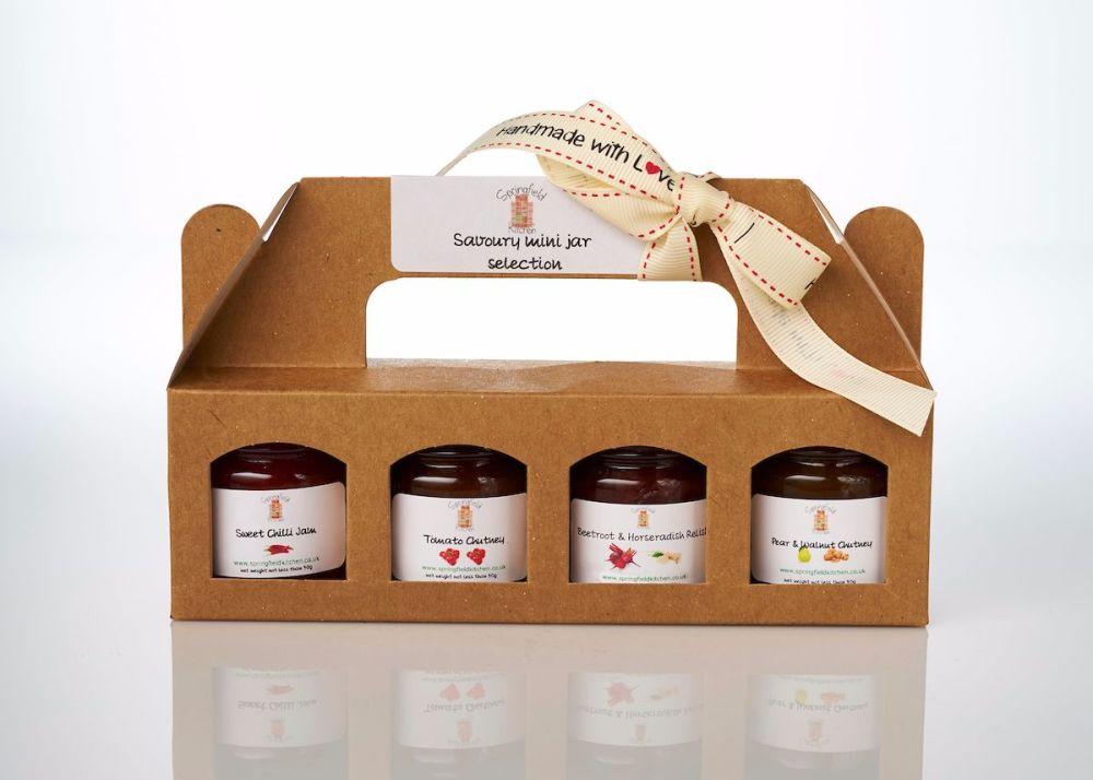 Savoury Mini Jar Gift Pack