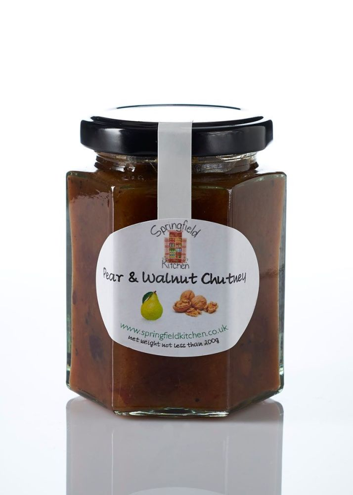 Pear and Walnut Chutney