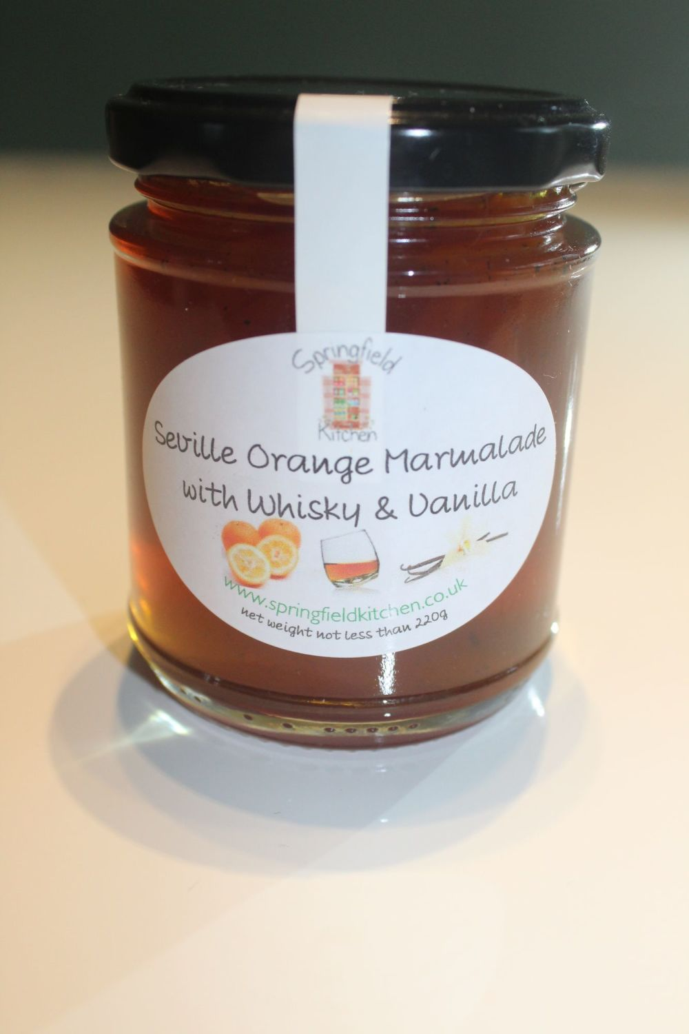 Seville Orange Marmalade with Whisky and Vanilla