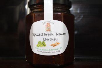 Spiced Green Tomato Chutney