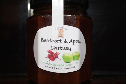 Beetroot & Apple Chutney