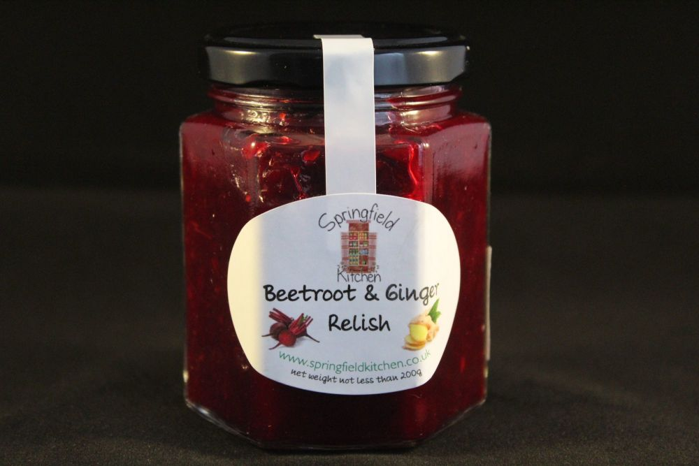 Beetroot and Ginger Relish