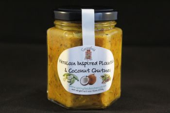 Keralan Inspired Plantain & Coconut Chutney