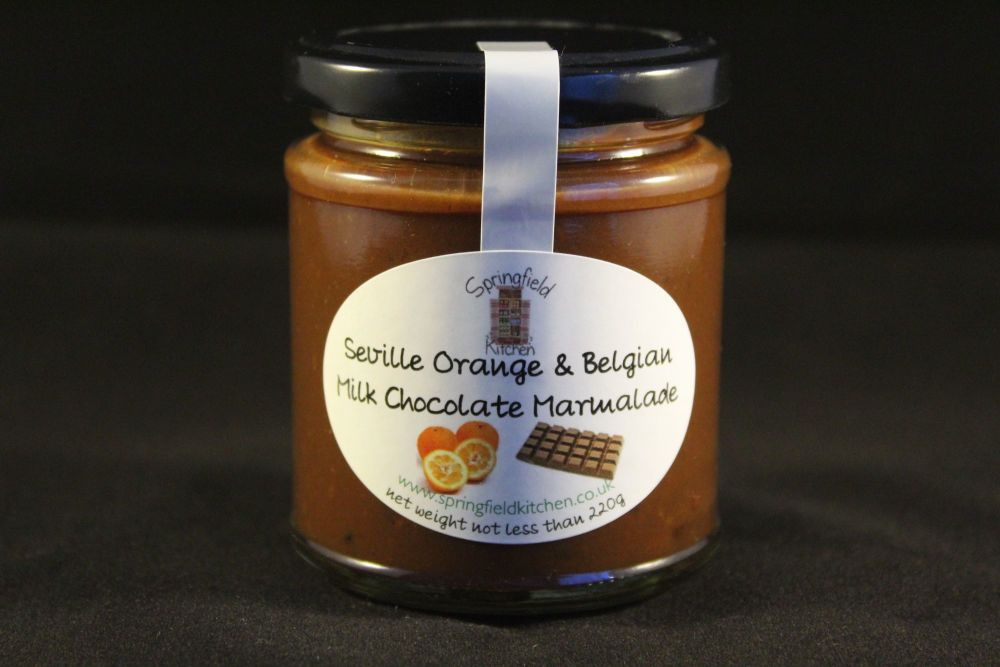 Seville Orange and Belgian Milk Chocolate Marmalade