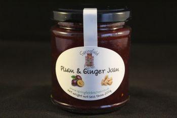 Plum & Ginger Jam