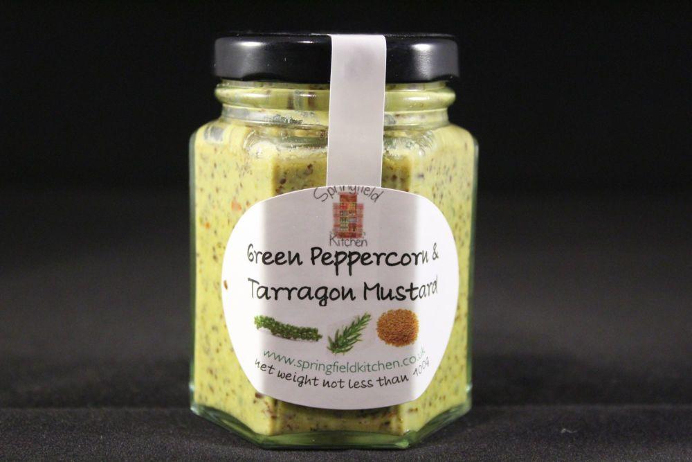 Green Peppercorn & Tarragon Mustard