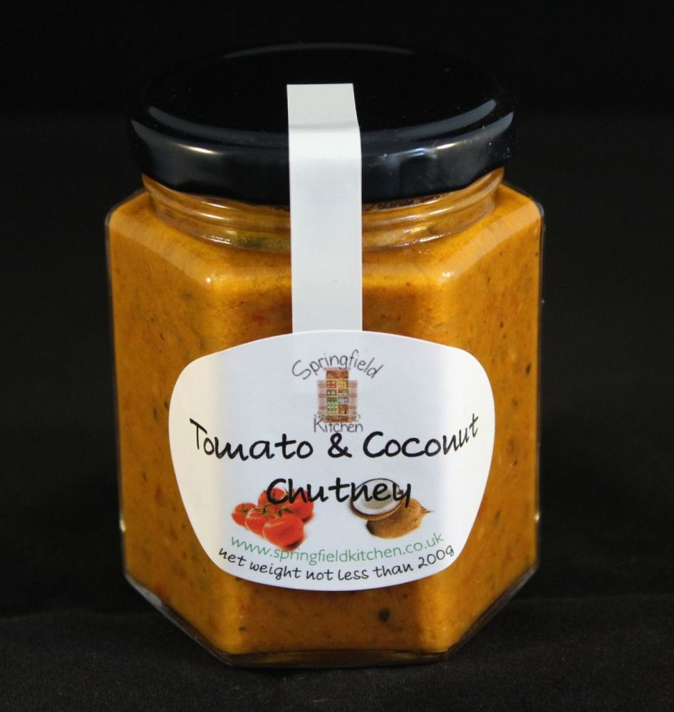 Tomato & Coconut Chutney