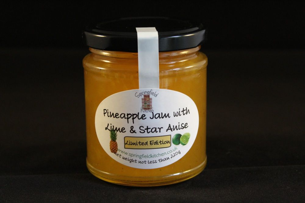Pineapple, Lime and Star Anise Jam