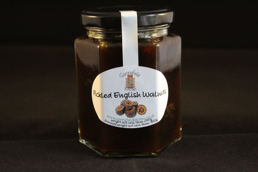Pickled English Walnuts