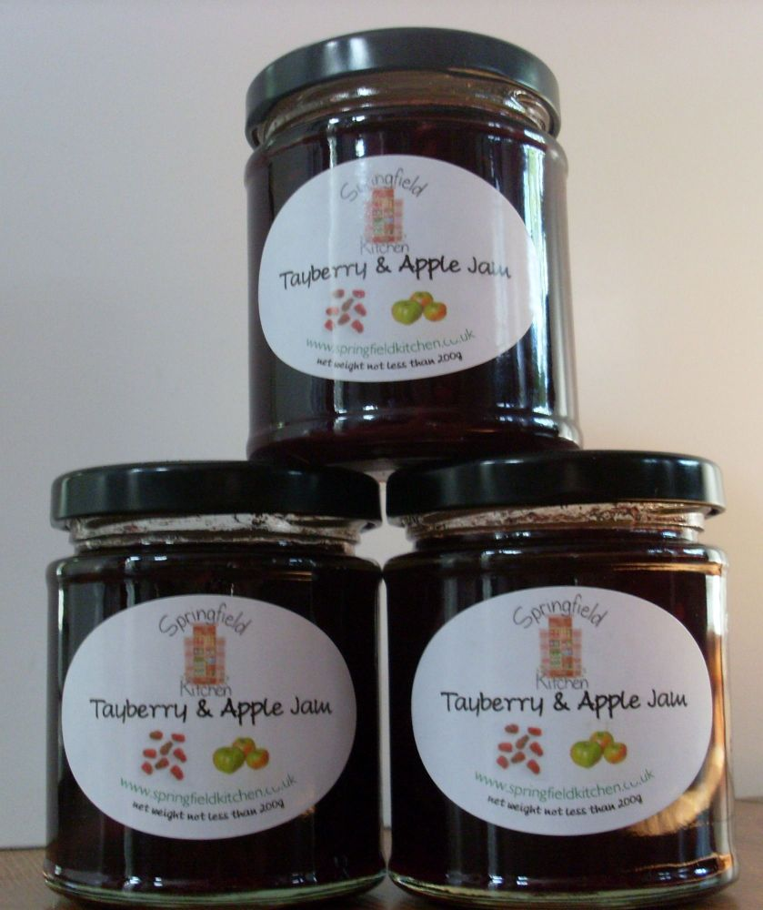 Tayberry & Apple Jam