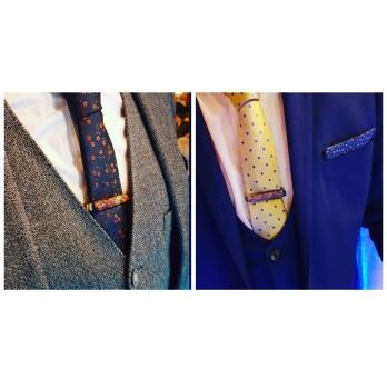 Tie Clip Worn